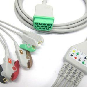 ECG-CABLE -5LEAD -MARQUTTE -GE