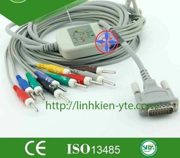 ECG cable 10 lead-nihon kohden